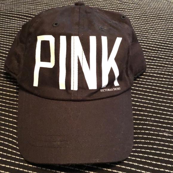 Black Victoria's Secret PINK Baseball Hat